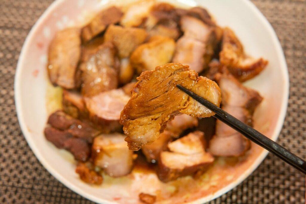 丸明国産煮豚の拡大